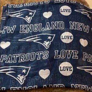 New England Patriots infinity scarf